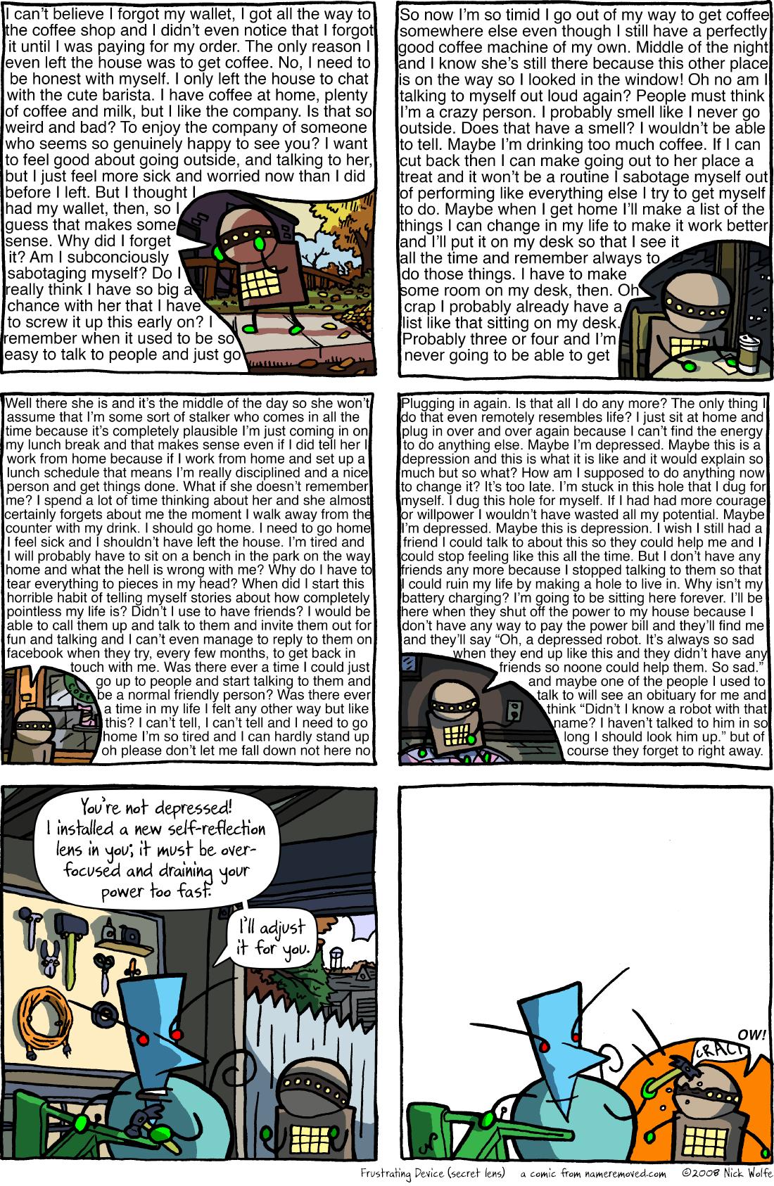 Frustrating Device (secret lens)