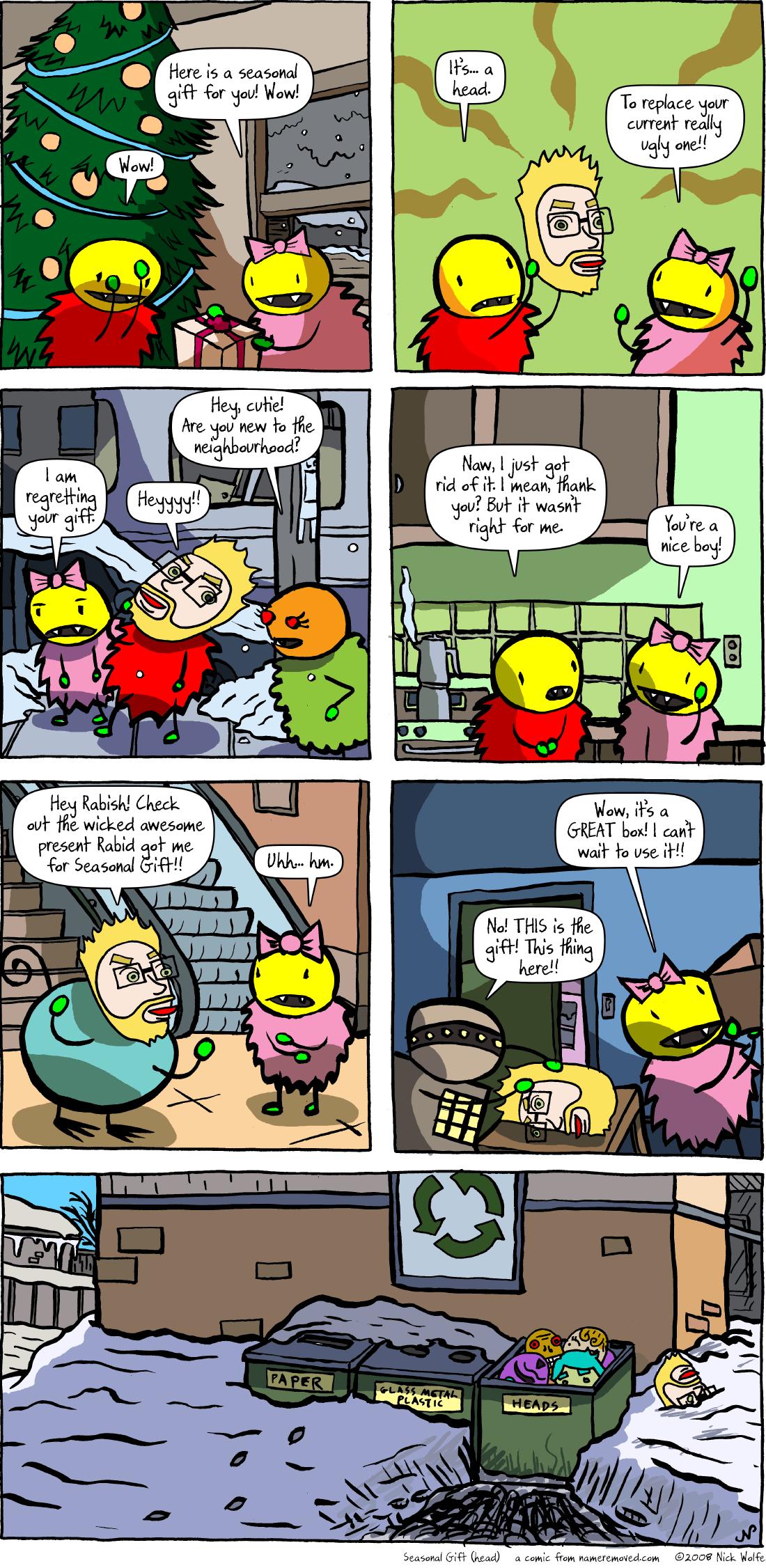 Seasonal Gift (head)