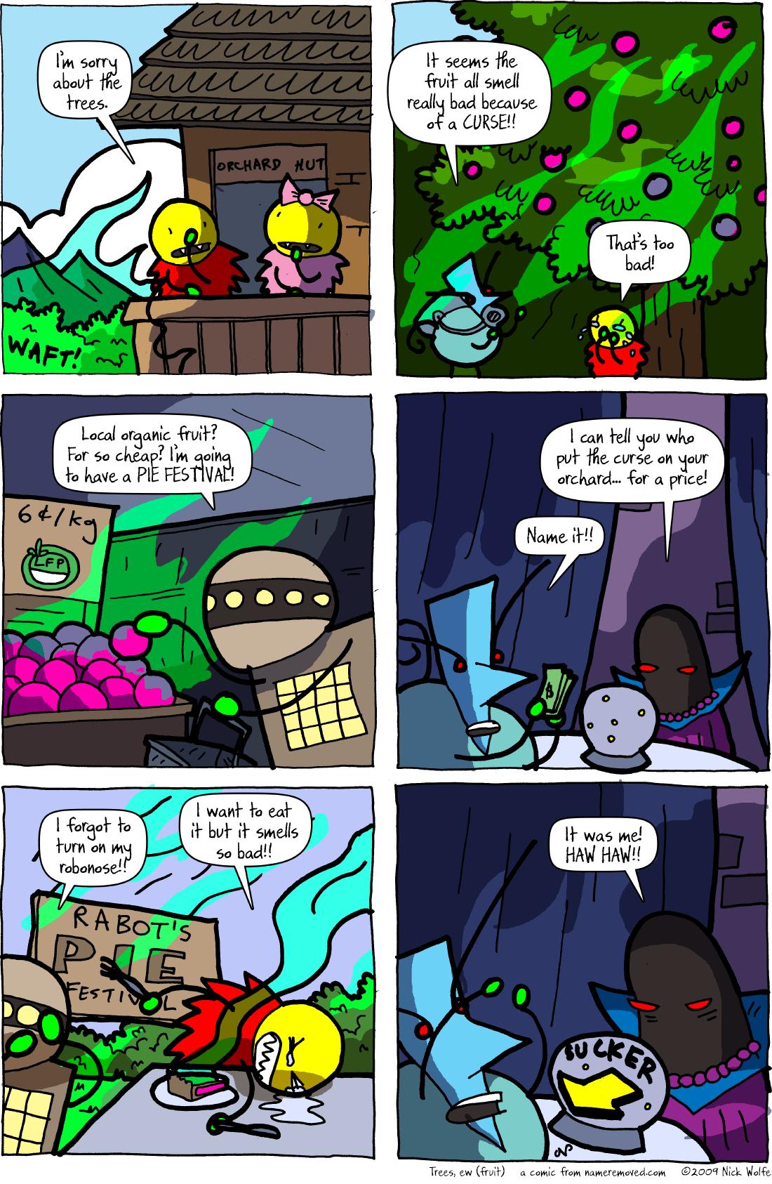 Trees, ew (fruit)