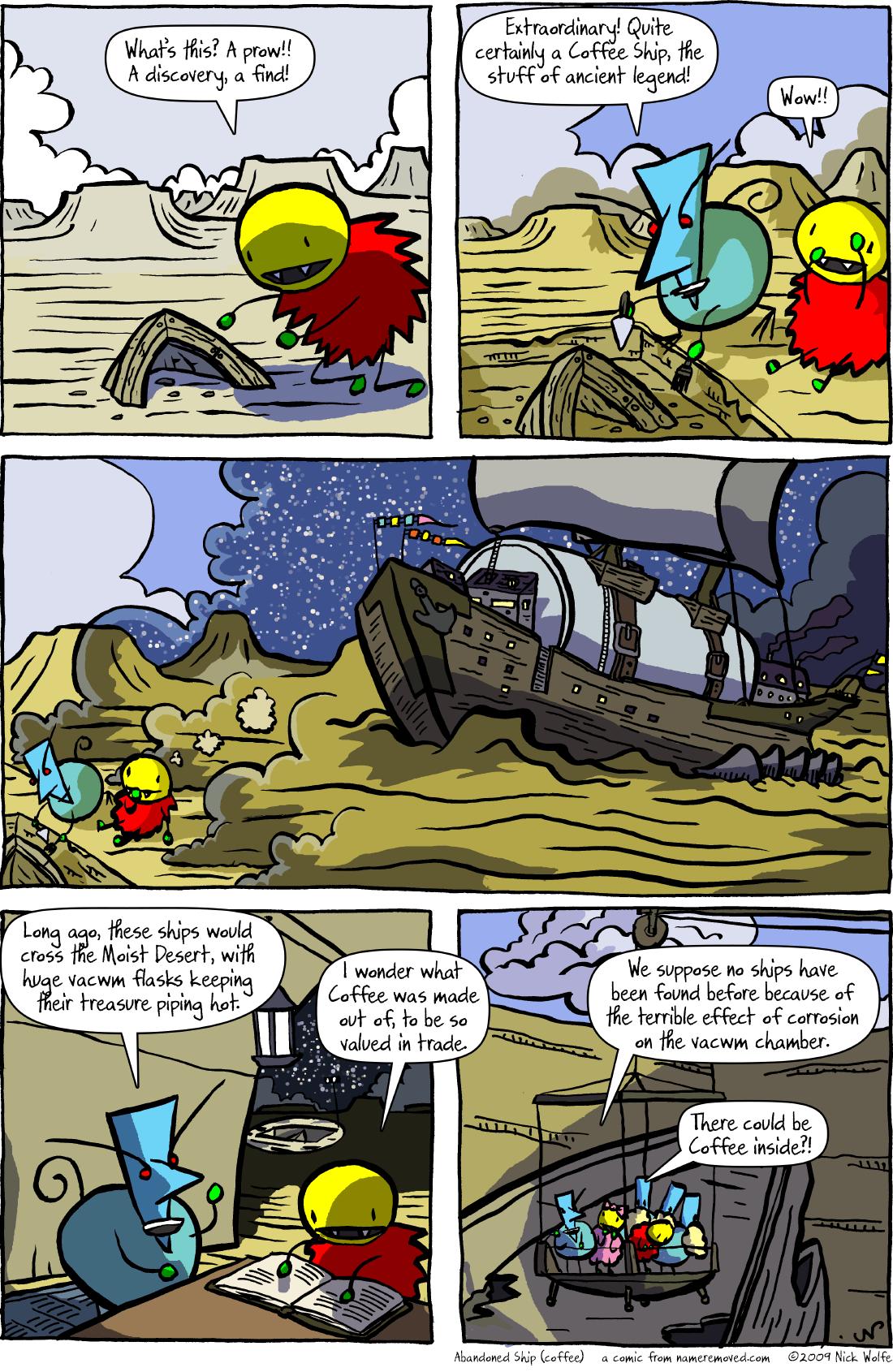 Abandoned Ship (coffee)