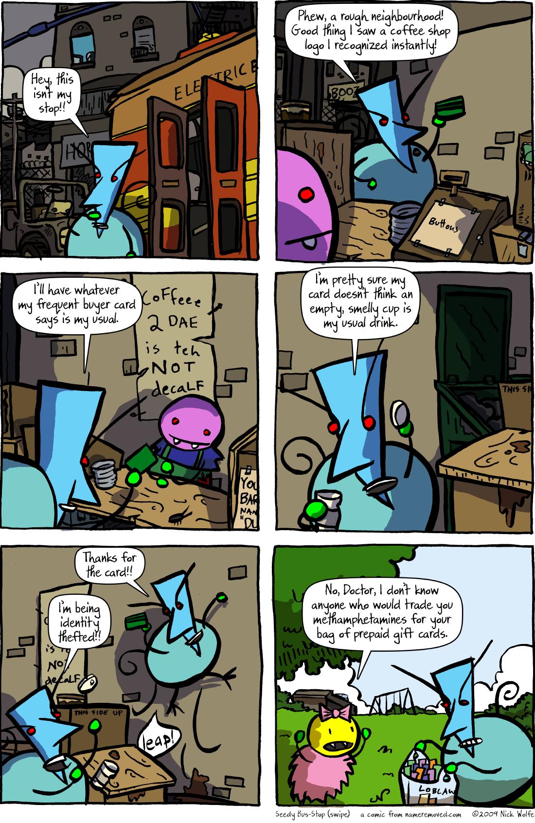 Seedy Bus-Stop (swipe)