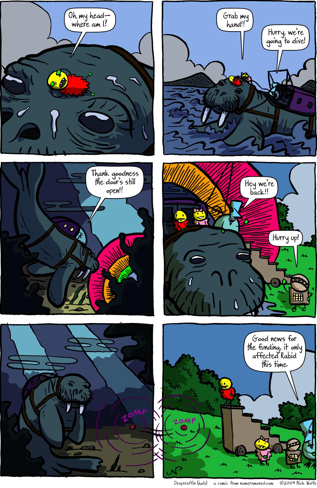 Desperaffin (hole)
