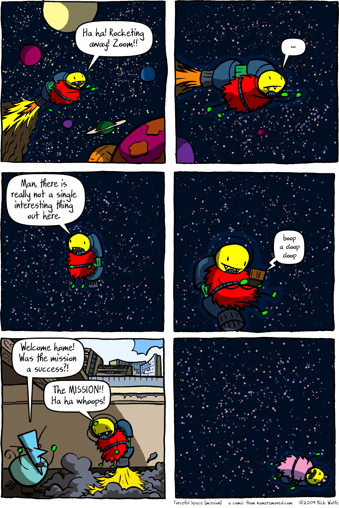Forceful Space (mission)