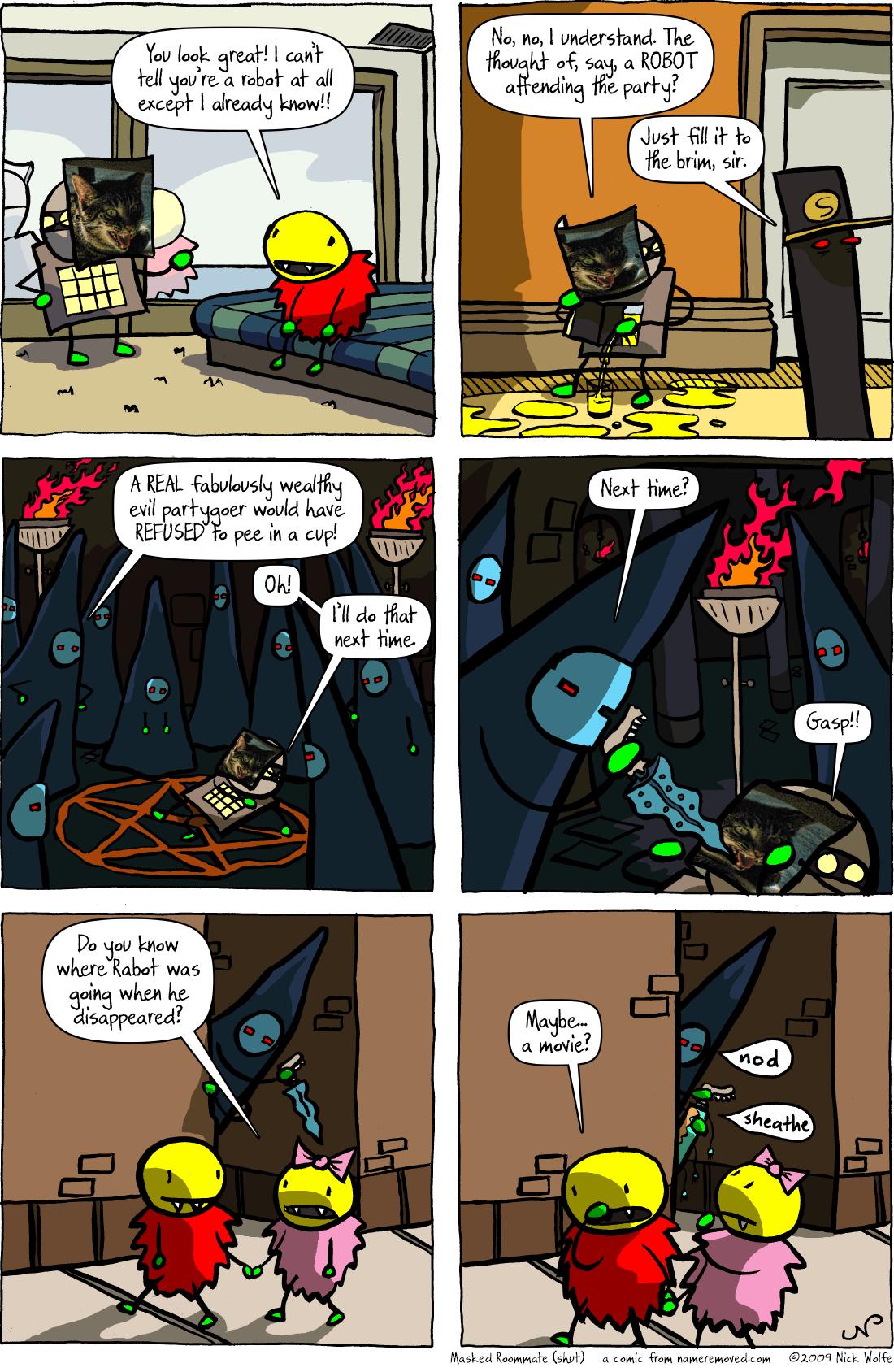 Masked Roommate (shut)