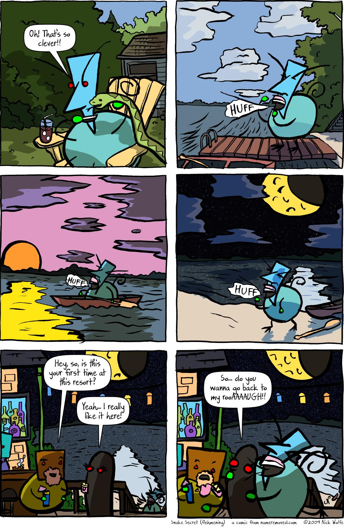 Snake Secret (flehmening)