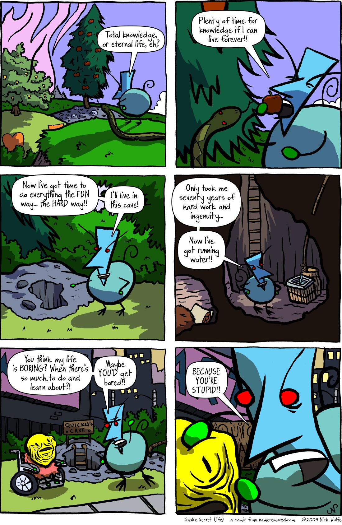 Snake Secret (life)
