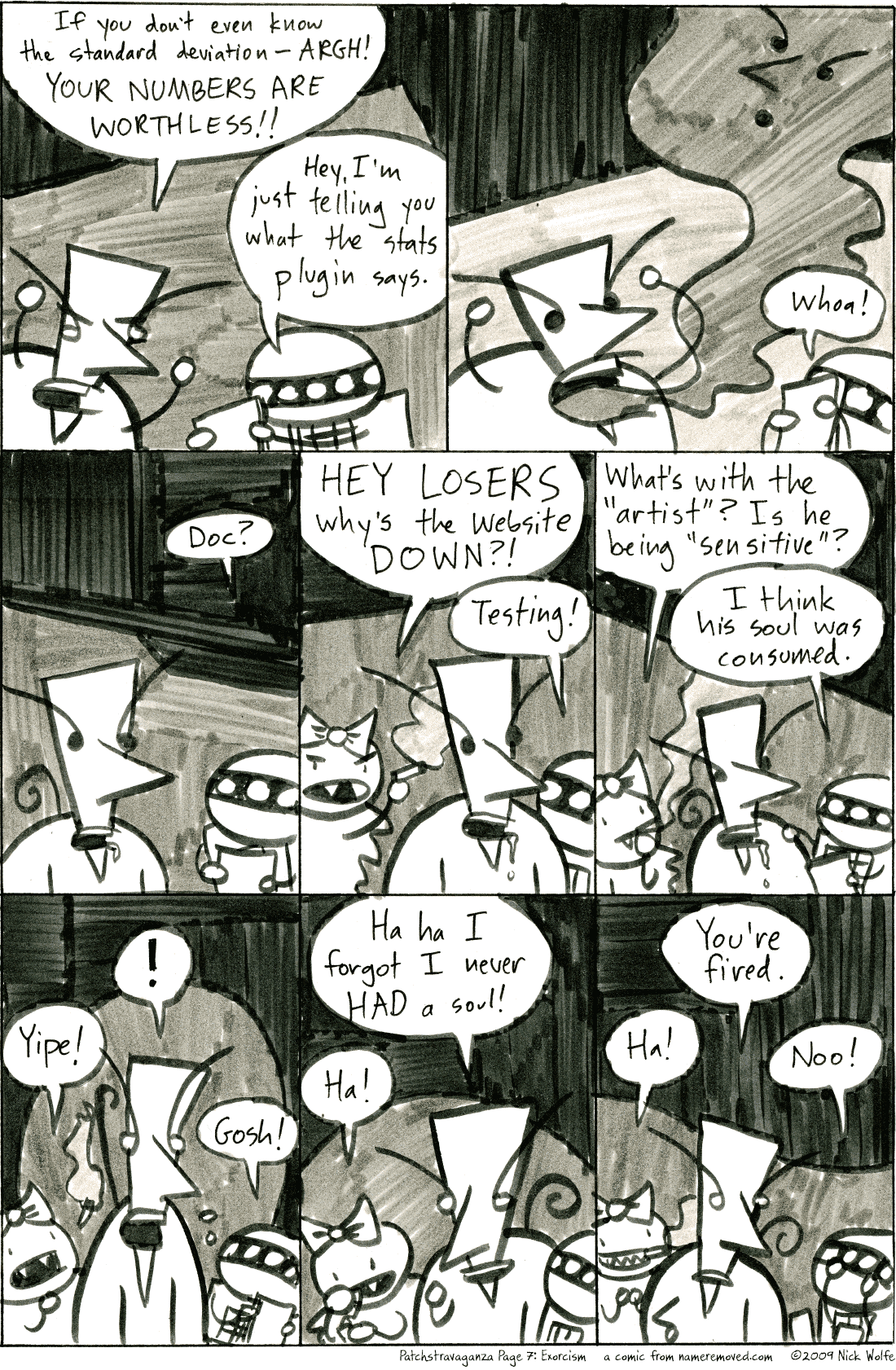 Patchstravaganza Page 7: Exorcism