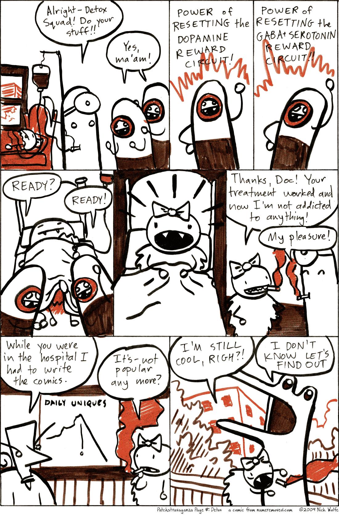 Patchstravaganza Page 8: Detox