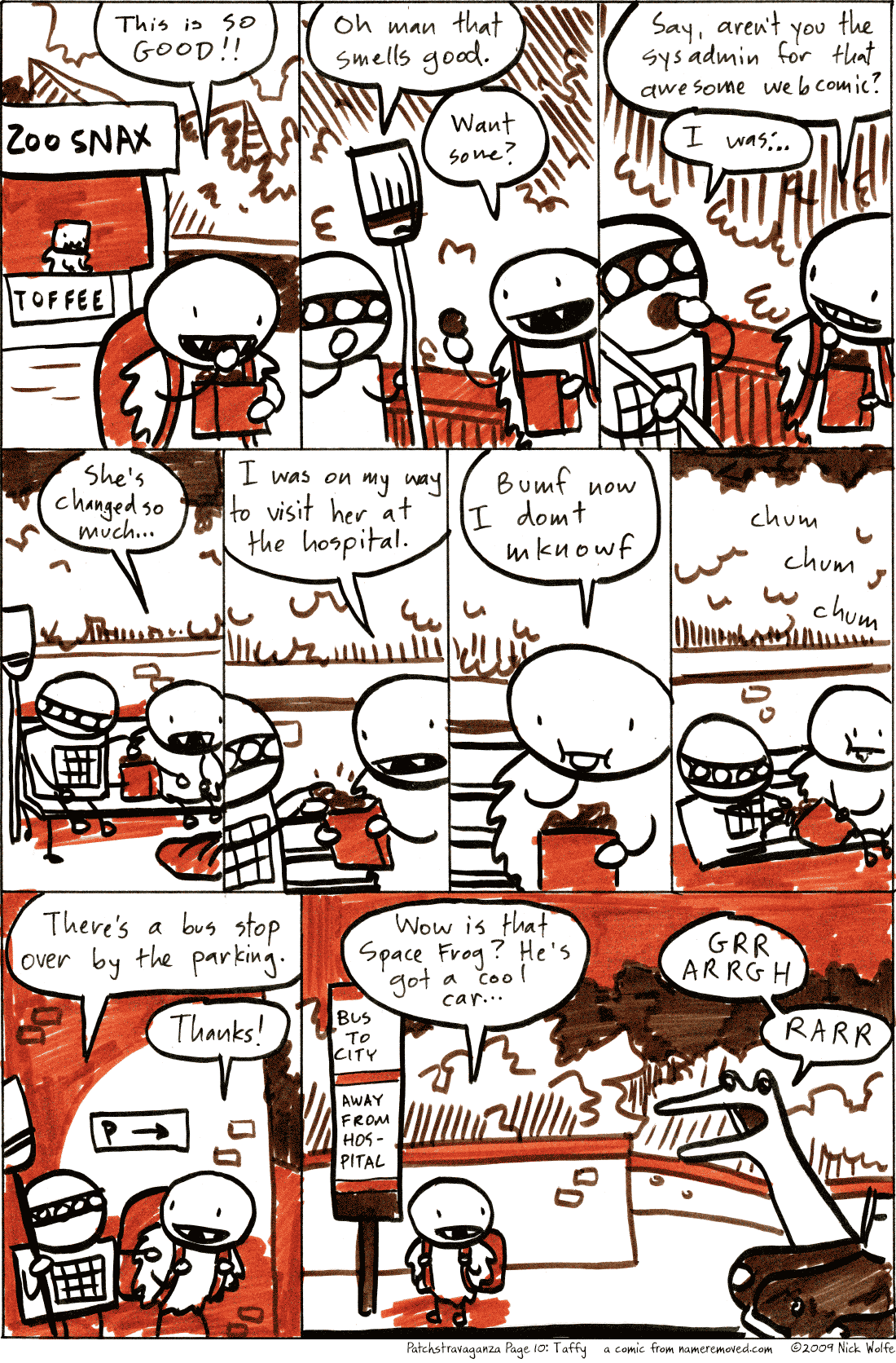 Patchstravaganza Page 10: Taffy