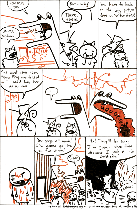 Comic for 2009-08-07