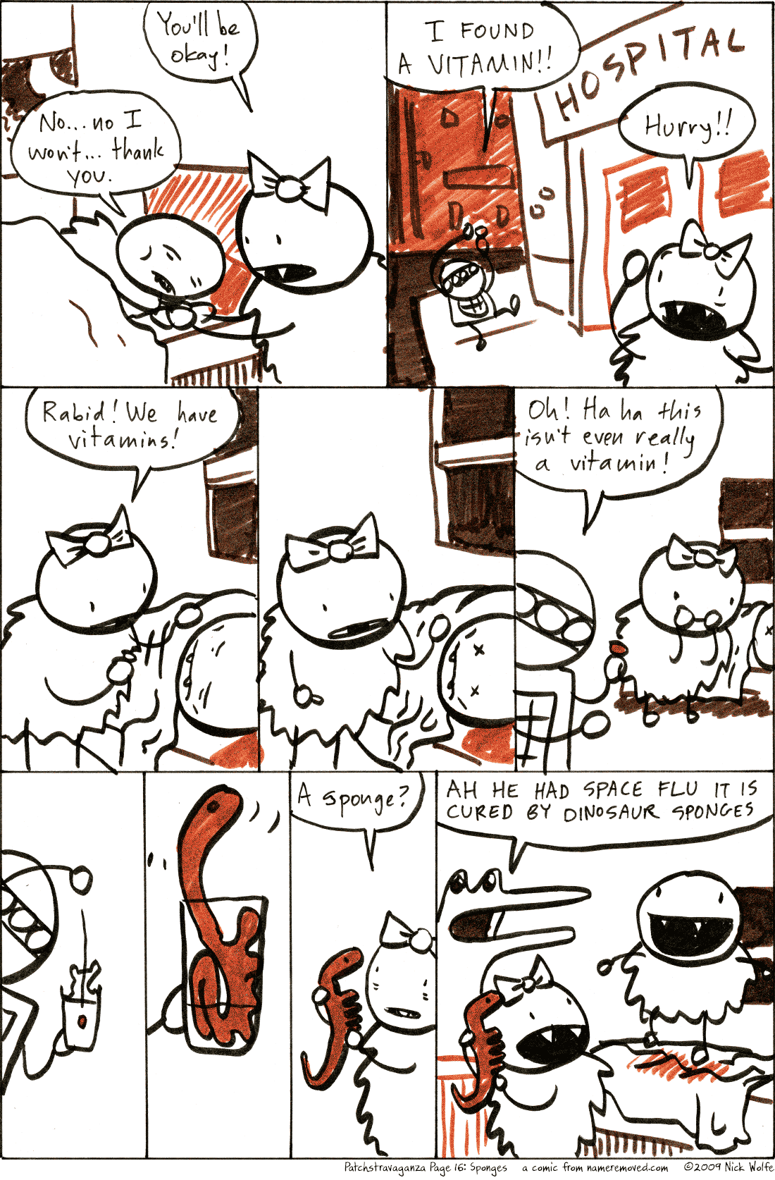 Patchstravaganza Page 16: Sponges