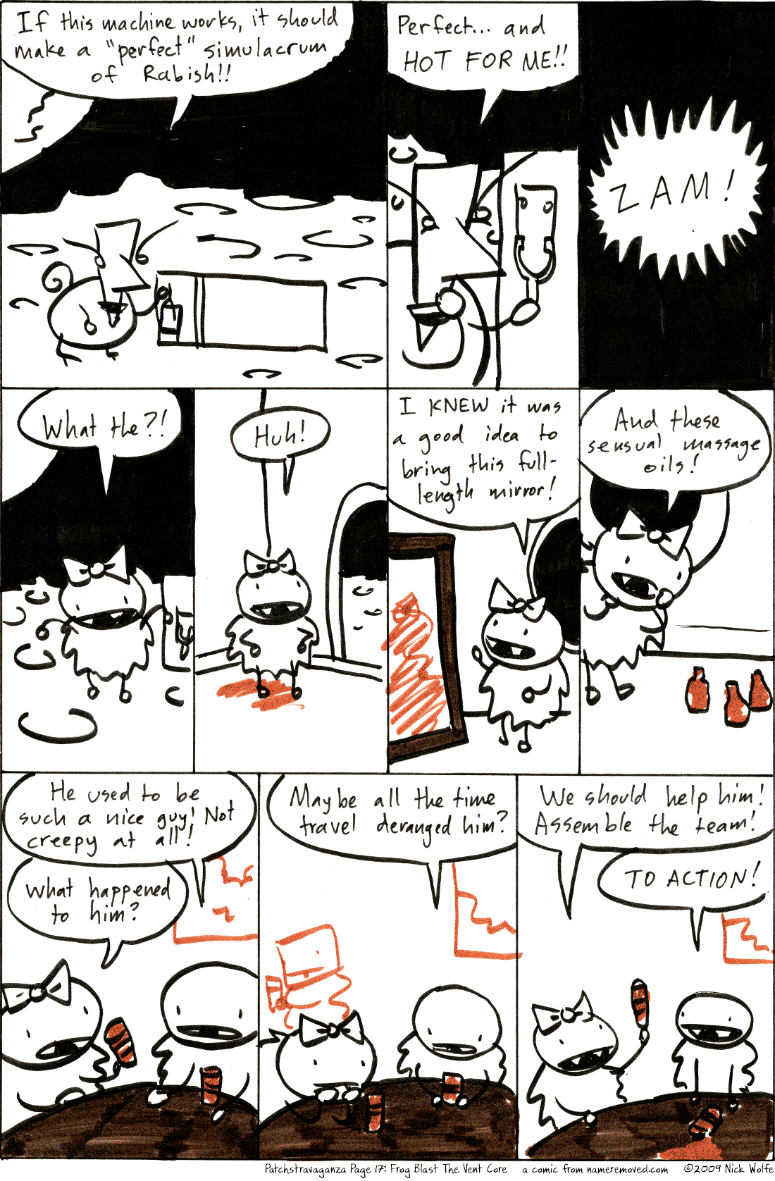 Patchstravaganza Page 17: Frog Blast The Vent Core