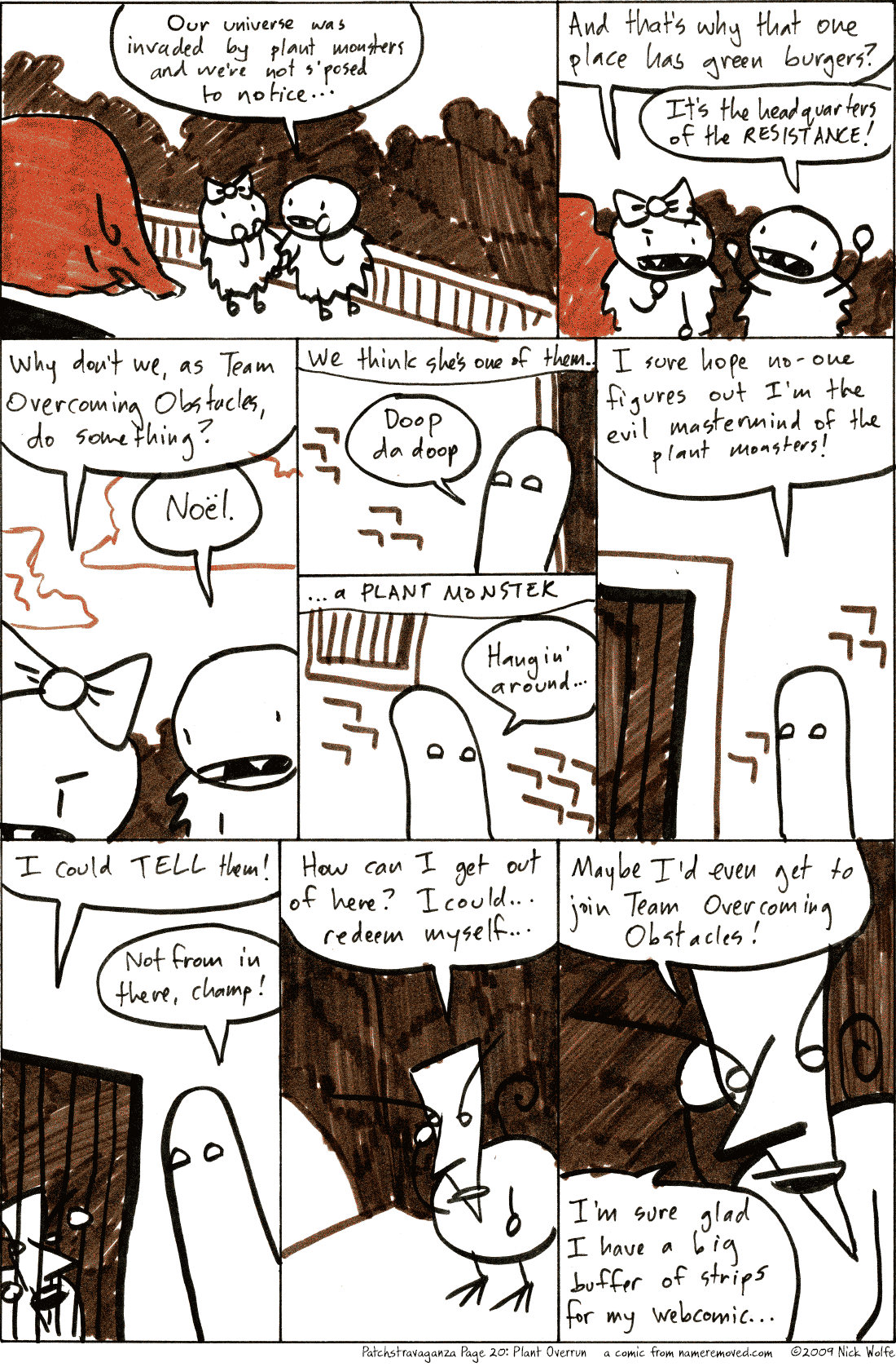 Patchstravaganza Page 20: Plant Overrun