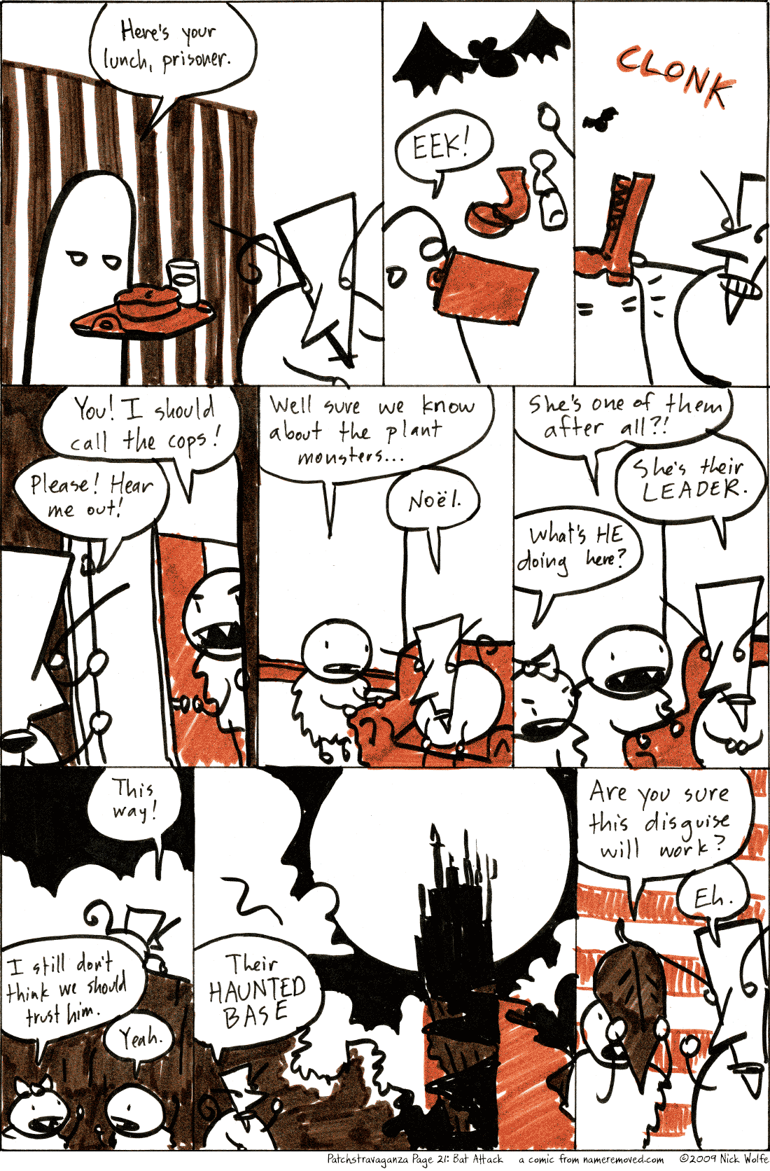 Patchstravaganza Page 21: Bat Attack!
