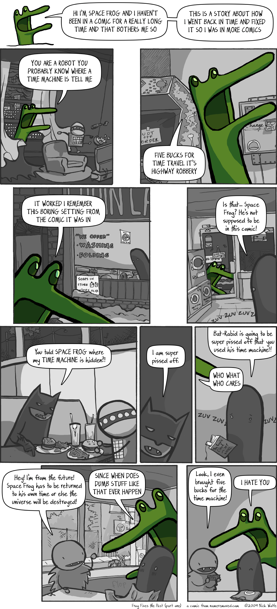 Frog Fixes The Past (part one)