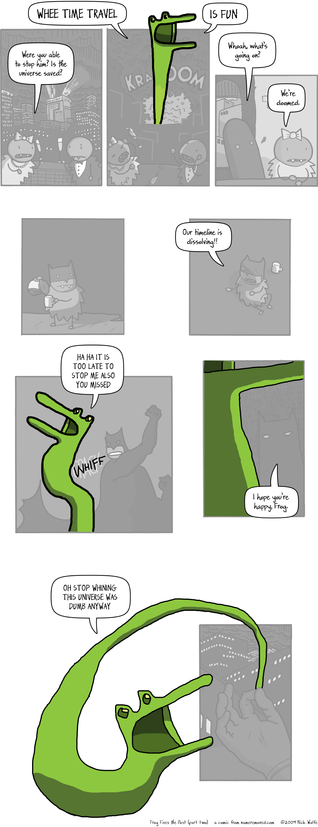 Frog Fixes The Past (part two)