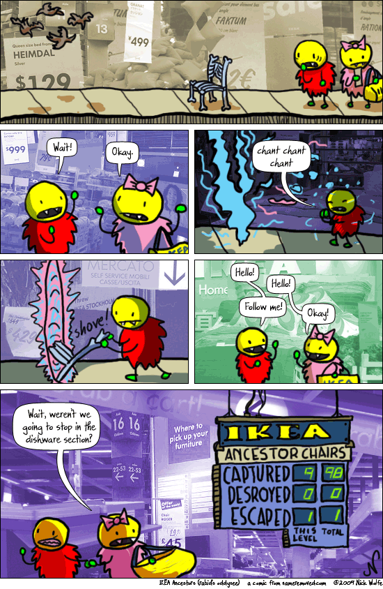 IKEA Ancestors (Rabid's Oddysee)