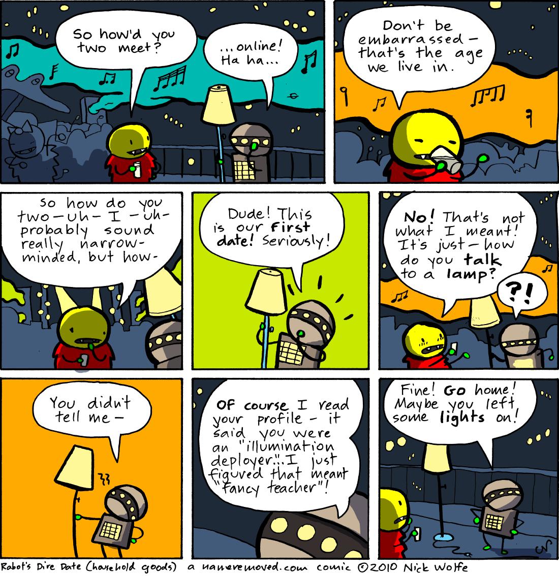 Rabot's Dire Date (household goods)