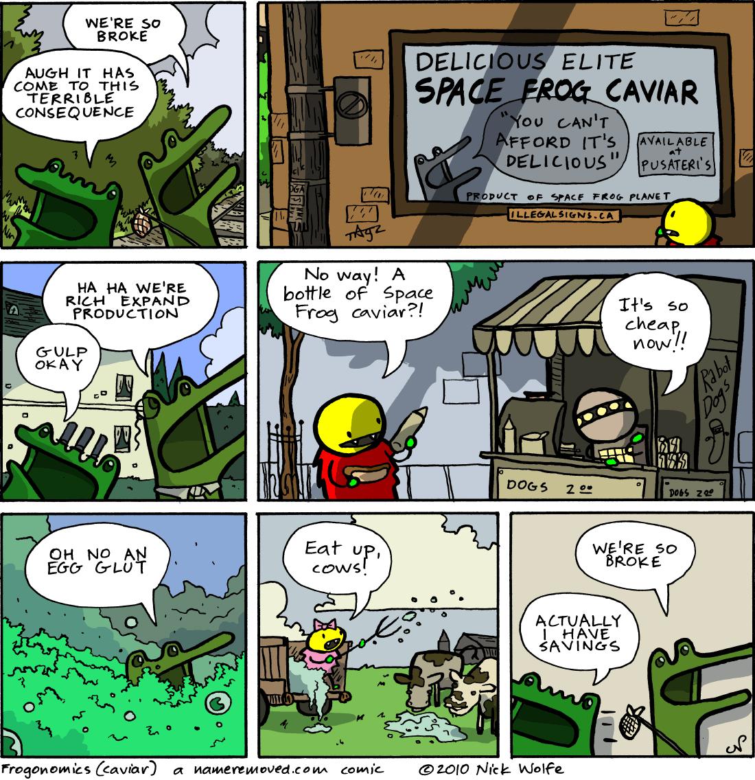 Frogonomics (caviar)