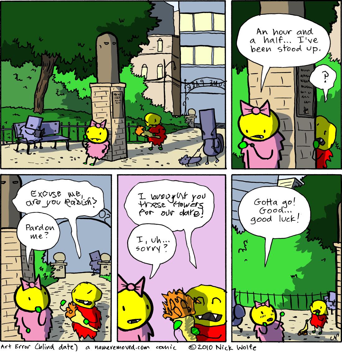 Art Error (blind date)