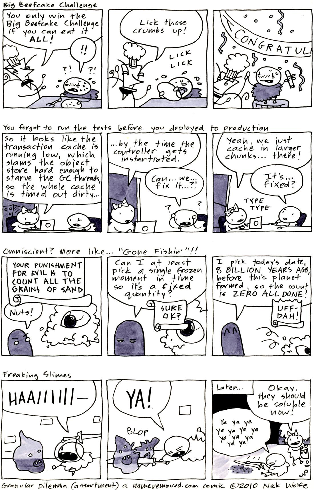 Granular Dilemma (assortment)