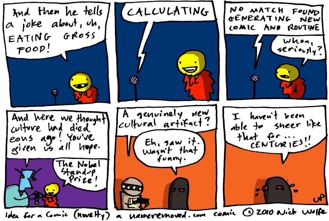 Idea for a Comic (novelty)
