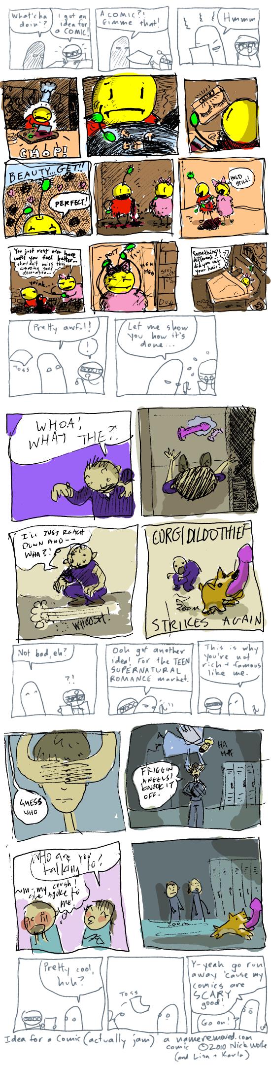 Idea for a Comic (actually jam)