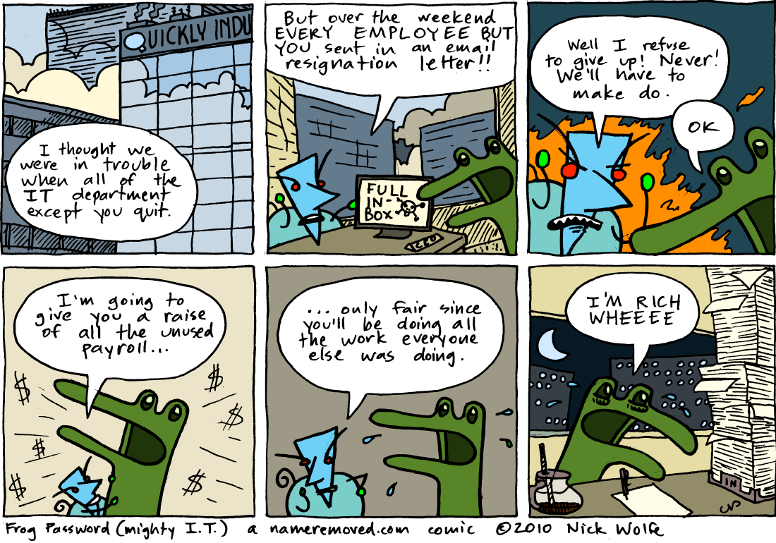 Frog Password (mighty I.T.)