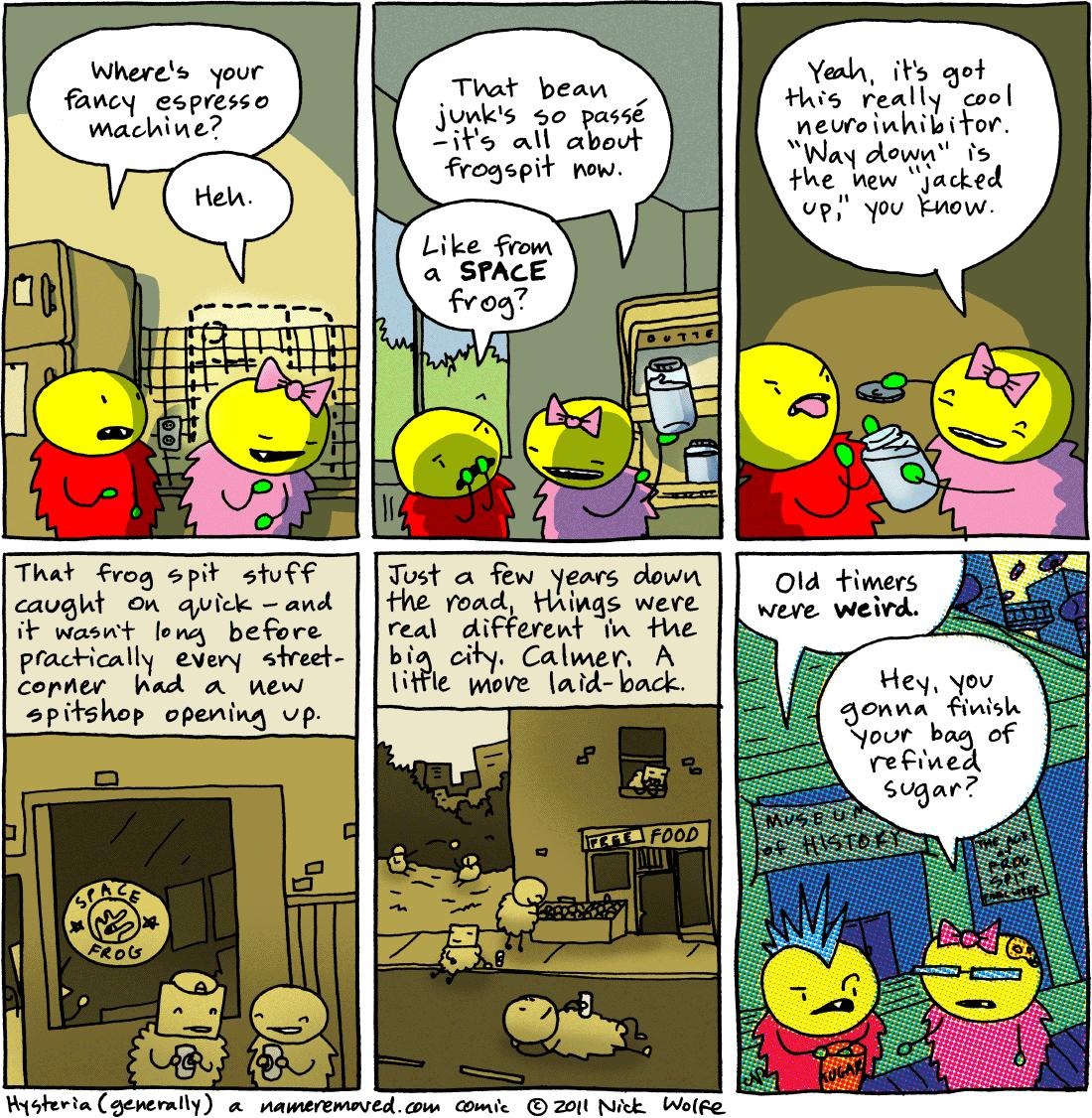 Hysteria (generally)
